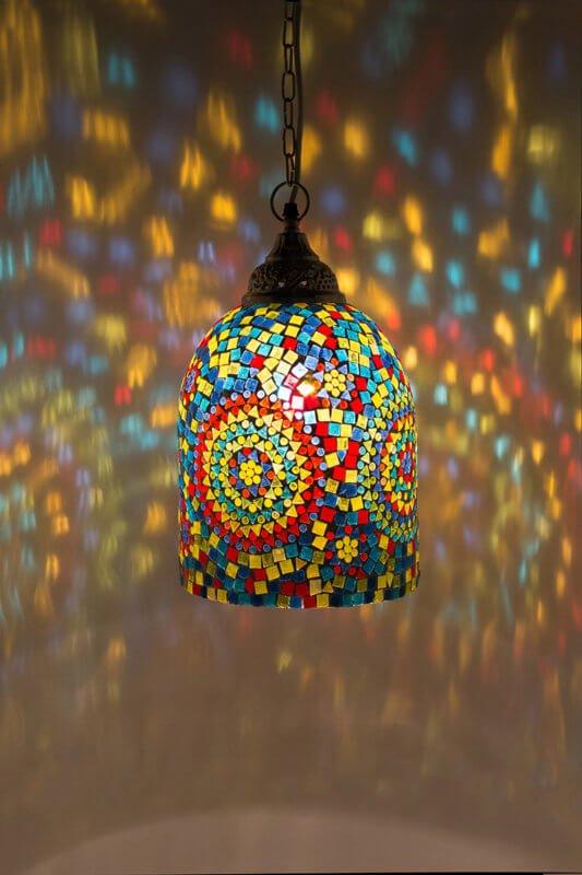 Mosaic lamp Jaipur - oriental-lights.com