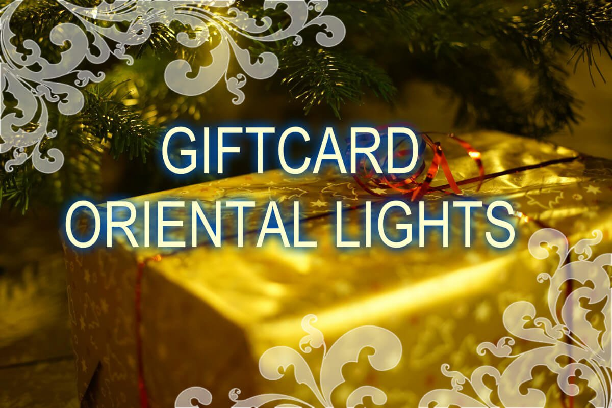 Giftcard - oriental-lights.com