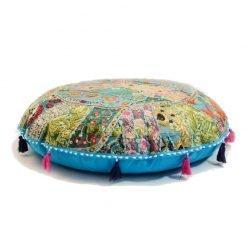 Ibiza bohemian cushion turquoise