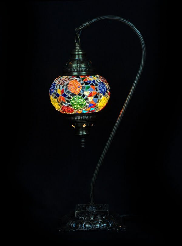 Multicolor Turkish table lamp - oriental-lights.com