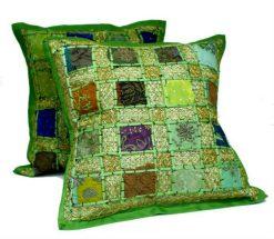 Ibiza cushion green