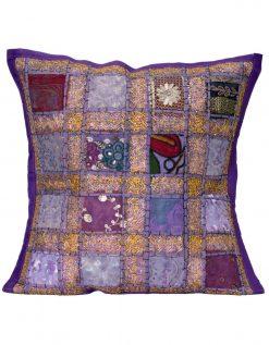 Ibiza cushion purple