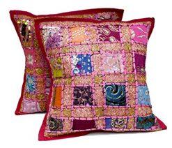 Ibiza cushion pink