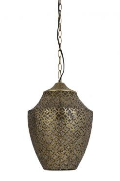 You can buy hanging lamp SELNA gold online at Oriental Lights
