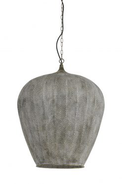 You can buy hanging lamp LAVELLO antique gold-white online at Oriental Lights